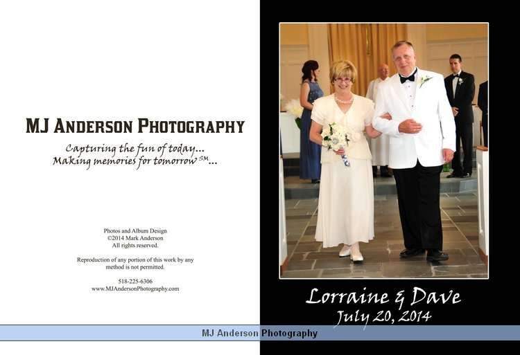 Lorraine and Dave's Wedding Album preview